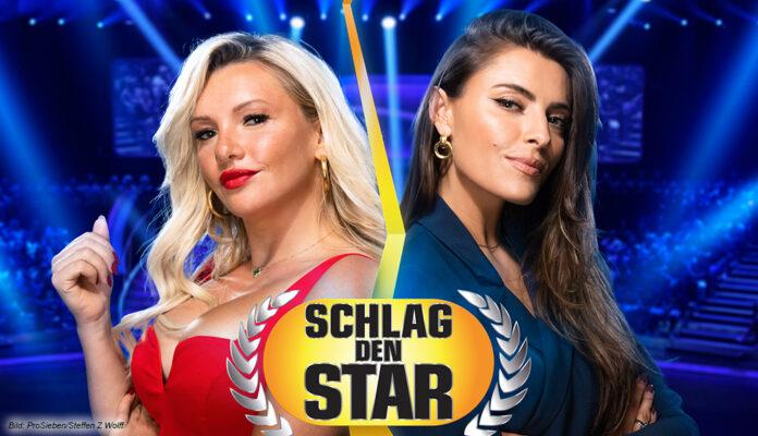 """Sophia Thomalla und Evelyn Burdecki bei """"Schlag den Star"""" (ProSieben)"""