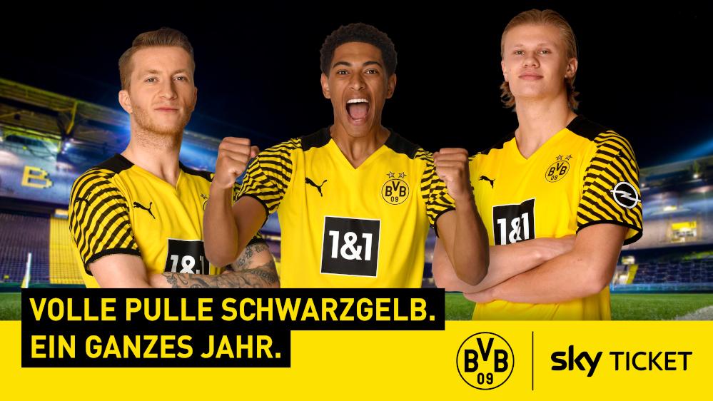 sky kooperiert mit Borussia Dortmund