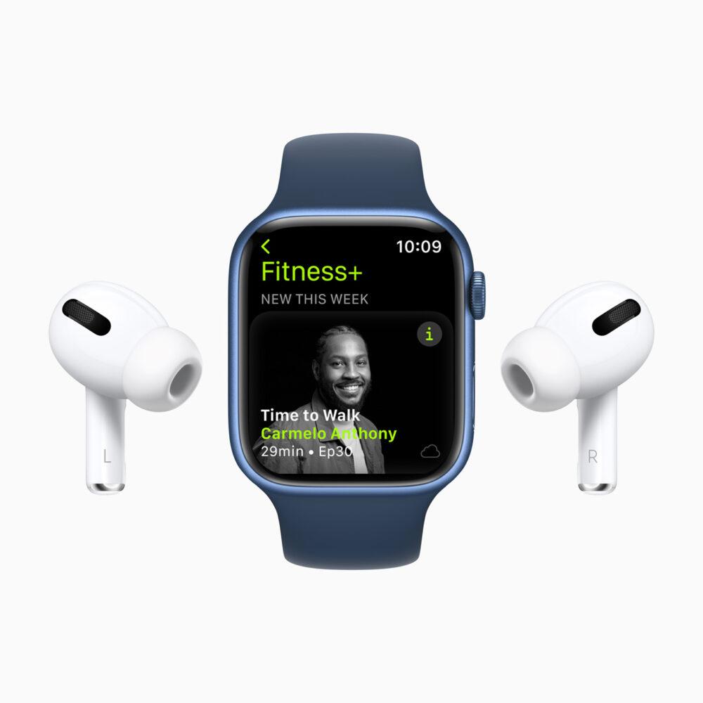 Apple Fitness+ mit Spotiy