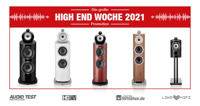 HIGH END 2021 Woche Bowers Wilkins 800 D4 Diamond Serie Lautsprecher Speaker News