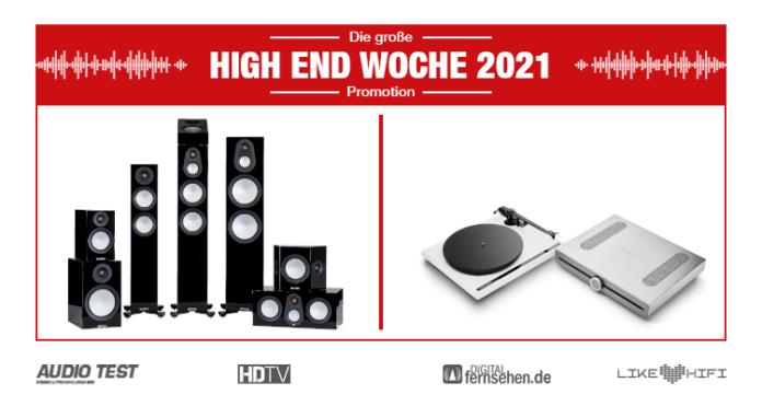 HIGH END WOCHE 2021 Monitor Audio Silver Lautsprecher Speaker Roksan Atessa 01