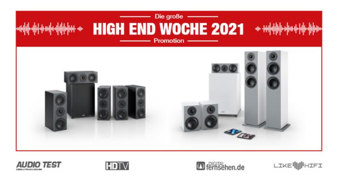 HIGH END WOCHE 2021 Nubert nuBoxx Lautsprecher Speaker