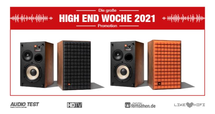 JBL L52 Classic Series Speaker Lautsprecher Retro Vintage 2021 black orange 01