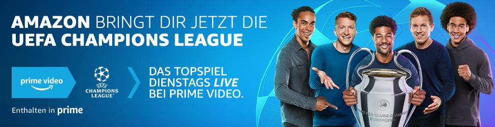 Champions League live bei Amazon