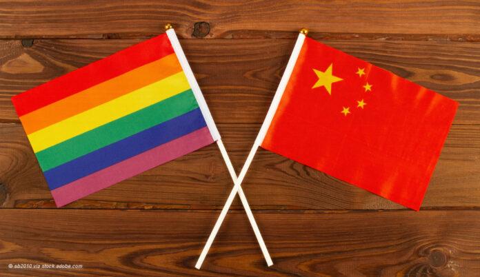 China und lgbtq Flagge © sb2010 via stock.adobe.com