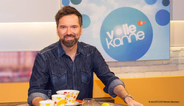 INgo Nommsen im Volle Kanne Studio © obs/ZDF/ZDF/Monika Baumann