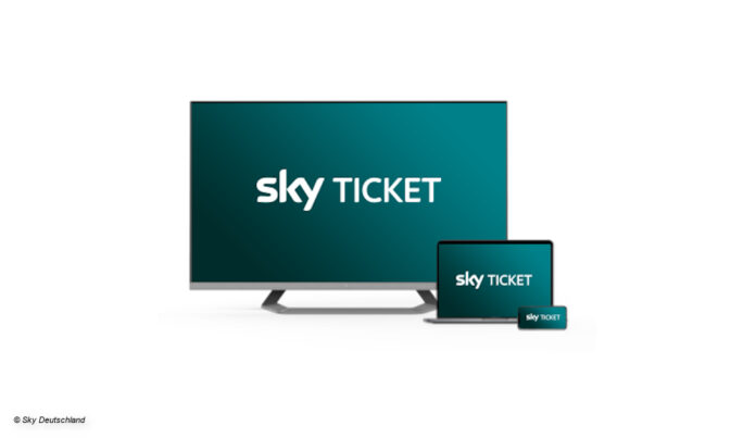 Das neue Sky Ticket-Design