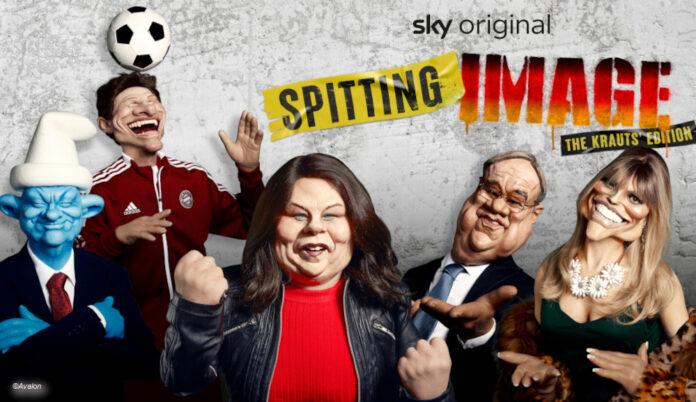 Spitting Image Krauts Edition auf Sky Comedy © Avalon