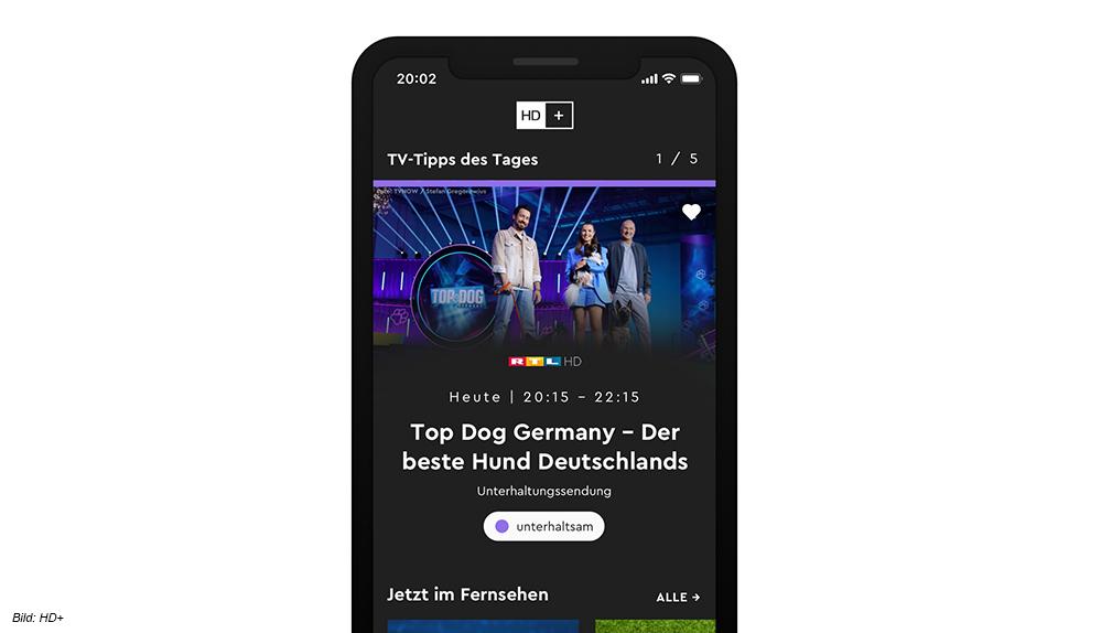 HD Plus ToGo für iOS und Android