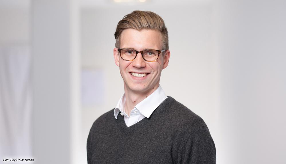 Max Erhardt, Director Product Management beiSkyDeutschland: