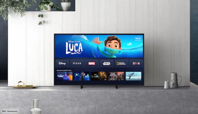 Disney+ jetzt auf Panasonic 4K TVs