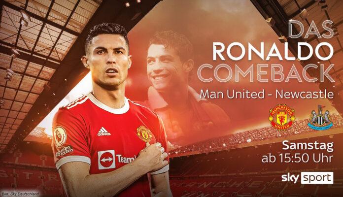 Ronaldo kehrt zu ManU zurück – Sky zeigt das Spiel live