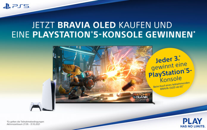 "Sony Bravia XR ""Perfekt für PlayStation 5"""