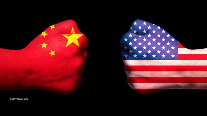 China vs USA ©ZDF/Tobias Lenz