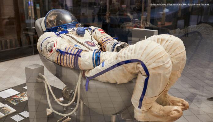 Viehböck Raumanzug AustrMirKosmonaut Kluft © Technisches Museum Wien/APA-Fotoservice/Tesarek