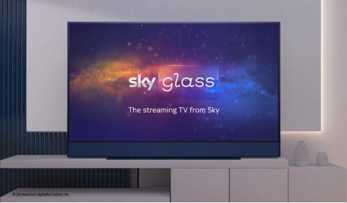 Sky Glass TV; Screenshot digitalfernsehen.de